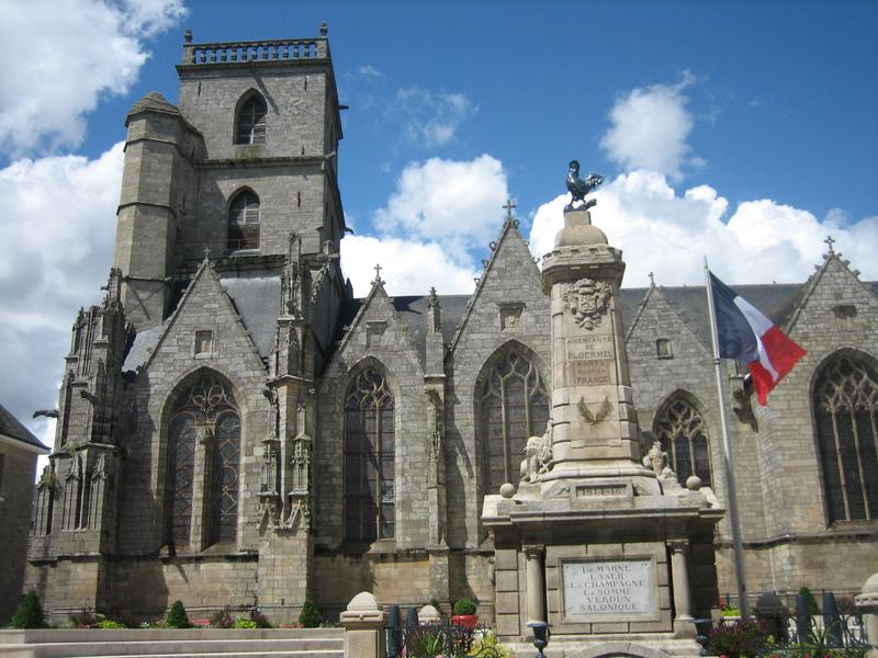 Ploermel, Brittany France